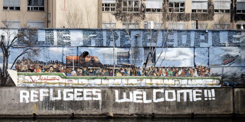 Refugees Welcome in Berlin © 2016 Sven-Kåre Evenseth