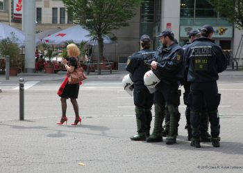 Datenschutz: Keiner darf wissen, was die Polizei sich merkt – © 2015 Claus R. Kullak
