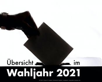 Wahljahr 2021 – Übersicht | © 2021 Claus R. Kullak | Element5-digital / Unsplash | respublica.prepon.de